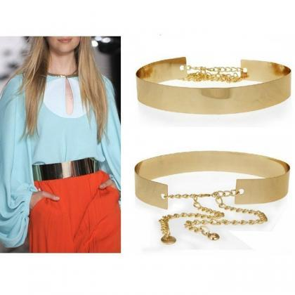 Mirror Chains Metal Waist Belt Wais..