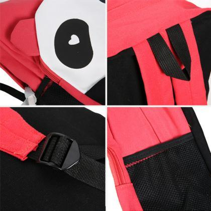 Student Panda Canvas School Backpac..