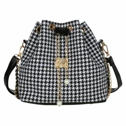 Drawstring Bag Patchwork Patterns S..