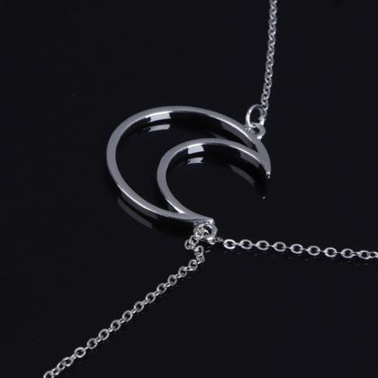 Romantic Couples Moon Stars Clavicl..