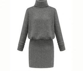 Knitted Turtleneck L..