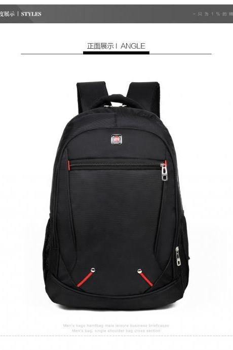 Casual Oxford Cloth Men's Backpack
