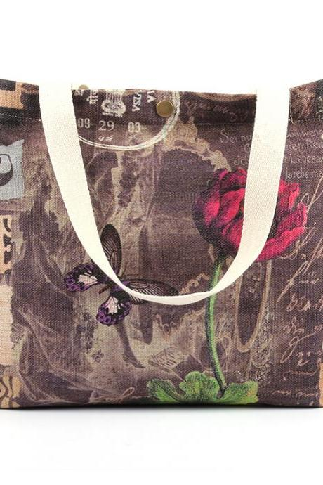 Beautiful Graphic Print Women Tote Bag