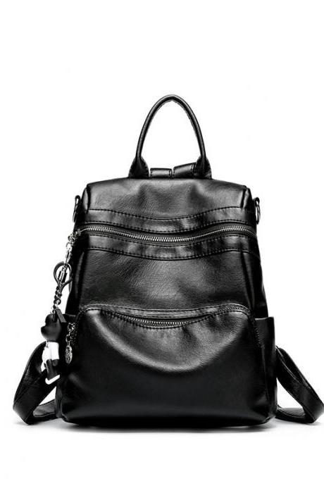 Casual Color Block Women Backpack