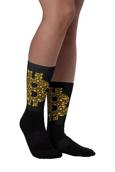 Bit Virtual Currency Bitcoins Socks