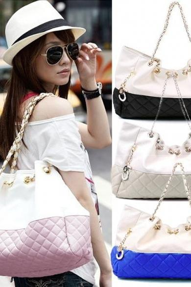 Girls' Oversized Bag Shoulder Handbag Chain Straps