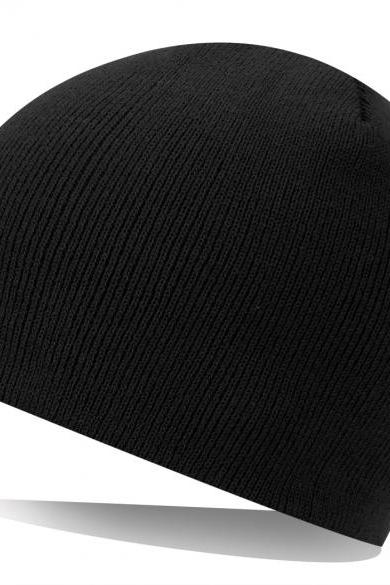 Unisex Adult Men Women Warm Fall Winter Knit Ski Beanie Slouchy Soft Solid Cap Crochet Hat