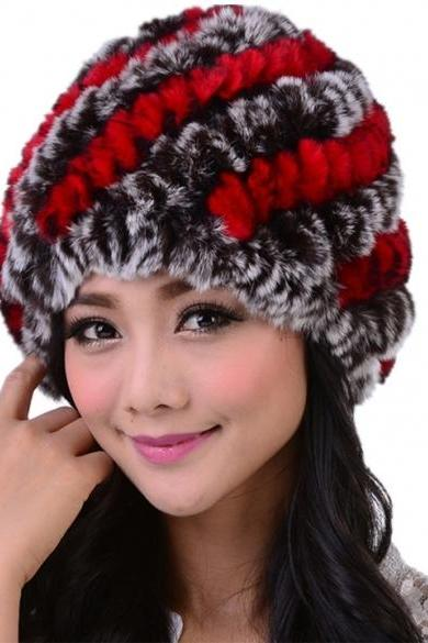 High Quality New Women's Winter Ear Cap Hat Ski Slouch Hot Hat Cap