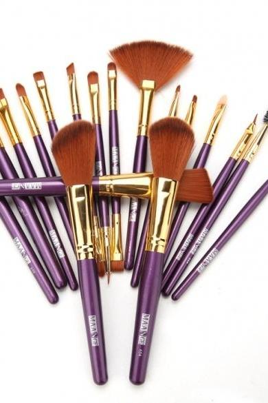 New Makeup 19pcs Brushes Set Powder Foundation Eyeshadow Eyeliner