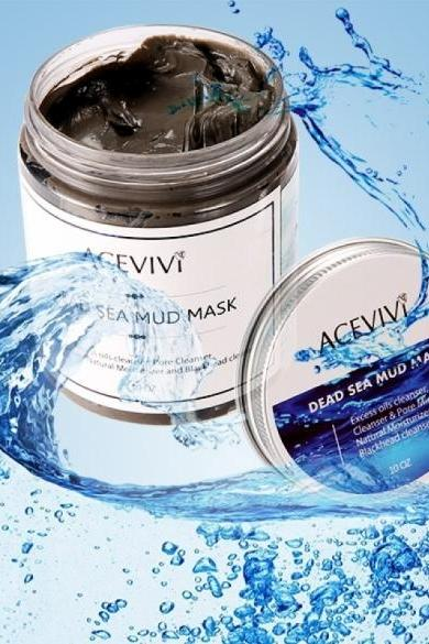 New Fashion Deep Cleaning Skin Care Blackhead Remover Canned Dead Sea Mud Facial Mask Pore Cleanser