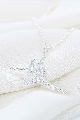 Hot Sales Fashion Dance Girl Couples Necklace