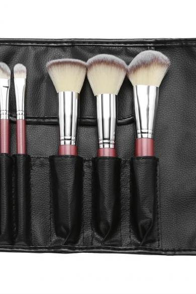 ACEVIVI 6 PCS Makeup Brush Professional Foundation Face Powder Brushes Set + Makeup Carrying Bag