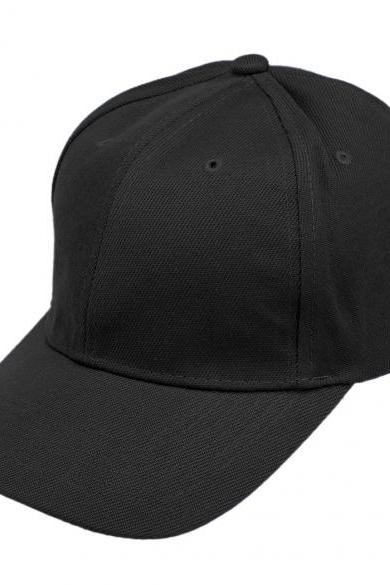 Unisex Men Women Fashion Plain Baseball Cap Adjustable Brimmed Cap