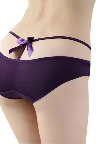 New Sexy Lady Lingerie Underwear Bandage Hollow Thong Panty G-String Briefs Knickers