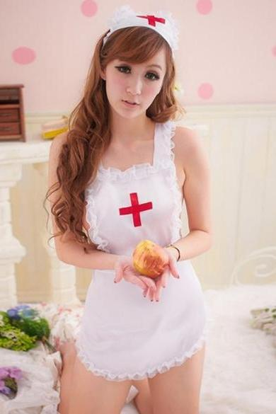 Sexy Costumes Cosplay Nurse Uniform Lingerie Fancy Dress Set Outfit Hot Sale New
