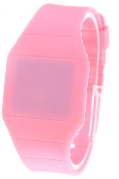 Hot Gift LED Light Electronic Wristwatch