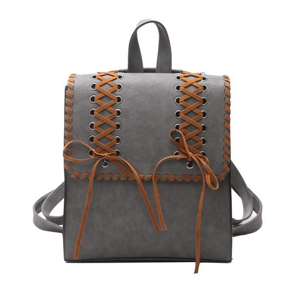 Retro knitted Tassels Design Backpack