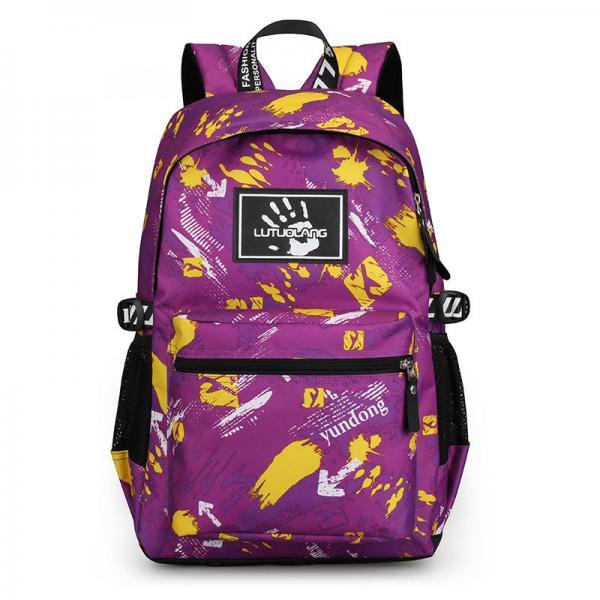 Large-Capacity Colorful Printing Sports Backpack