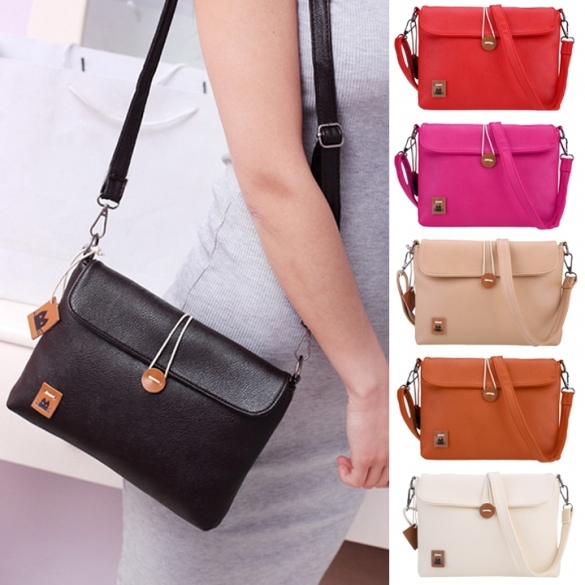 Newest Fashion Women Lady's Tote Clutch Handbag Portable Small Size Button Purse Shoulder Cross Bag