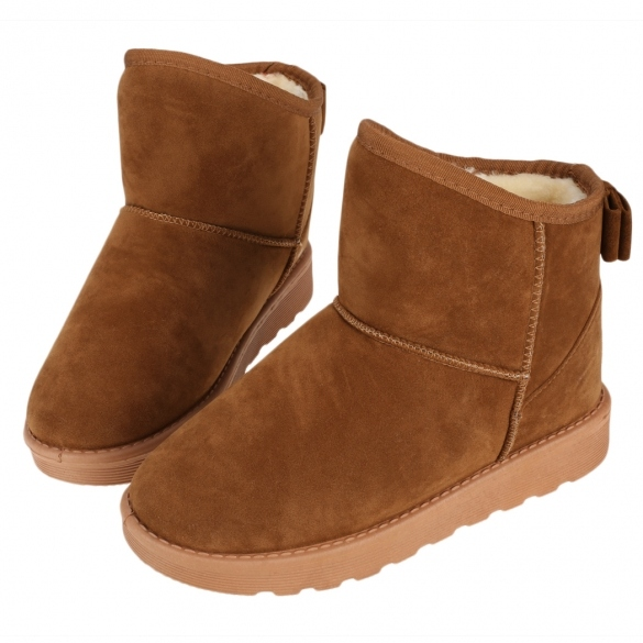 New Fashion Women's Girls Winter Thick Warm Snow Boots