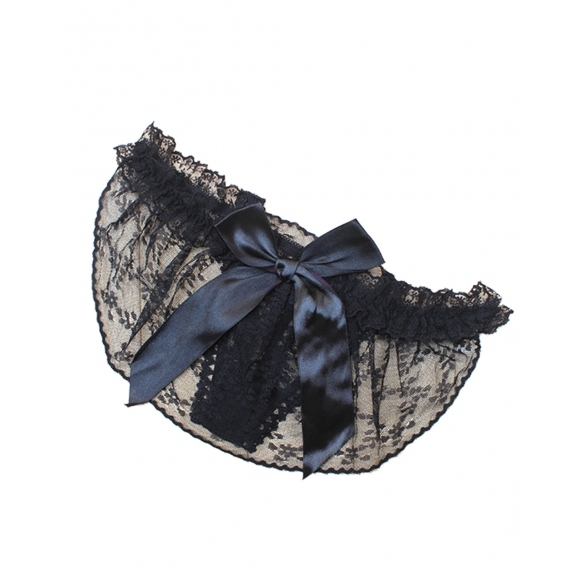 Ladies Sexy Bowknot Lace Thongs G-string V-string Panties
