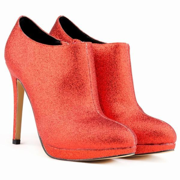 High-Grade Nightclub High-Heeled Flash Boots