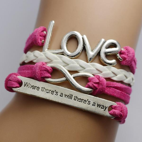 Bright Love Multilayer Woven Bracelet